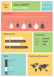 how to create and use an infographic resume personal branding shutterstock 180834215