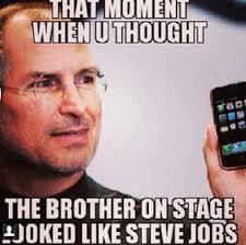 Annual meeting funny meme   JW   Pinterest   Steve Jobs, Funny ... via Relatably.com