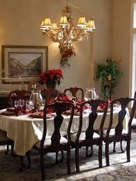 Nice Dining Room Tables Lovely Dining Room Table Christmas Decoration Ideas For Your House