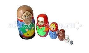 <b>Деревянная игрушка Бэмби</b> Матрешка Репка - Акушерство.Ru