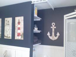 good looking design nautical theme bathroom ideas with sailing trendy white blue colors wall paints and bathroom decor designs pictures trendy