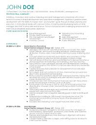 professional brand director templates to showcase your talent resume templates brand director