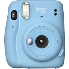 <b>Fujifilm Instax Mini</b> 11 Instant Camera - Sky <b>Blue</b> | BIG W