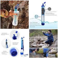 <b>Outdoor Water Purifier</b> Camping <b>Hiking</b> Emergency Life Survival ...