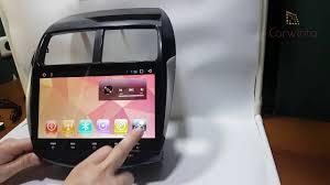 <b>Магнитола Mitsubishi ASX</b> 2010-2015 Android - YouTube