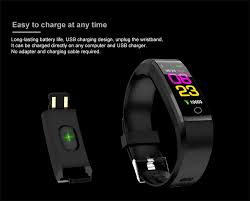 <b>BANGWEI New Smart</b> Watch Men Women Heart Rate Monitor Blood ...