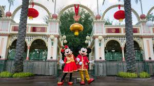 <b>Mickey</b> Mouse and Minnie Mouse Kick Off Lunar <b>New</b> Year in ...