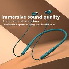 The New <b>Bluetooth Wireless</b> Headset <b>Halter</b> Neck Running Motion ...