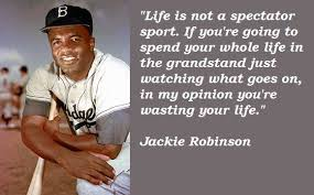 Jackie Robinson Quotes | Jackie Robinson | Pinterest | Jackie ... via Relatably.com
