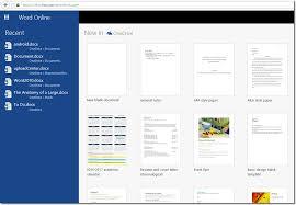 microsoft word online word tutorials opening word online