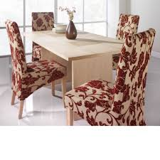 Fabric Chairs For Dining Room Dining Room Amazing Dining Room Idea With Rectangular Beige Wood