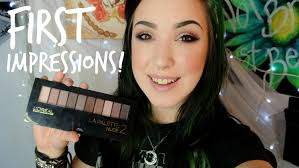 l 39 oreal eyeshadow palette first impression review