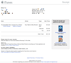 apple refreshes itunes receipts a new design purchased from itunes receipt