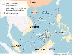 Image result for south china sea map