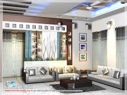 Contemporary Style Home Living Interior   Kerala Model Home PlansContemporary style home living interior