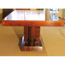 art deco rosewood dining table c art deco rosewood dining