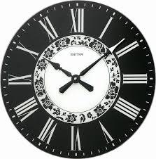 """Стеклянные <b>настенные часы</b> """"<b>Rhythm</b>"""" <b>CMG750NR02</b> кварцевые"""