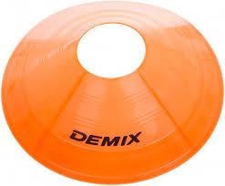 Набор для футбола: <b>фишки для разметки поля</b> Demix, 10 шт ...