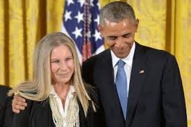 Image result for barbra streisand obama