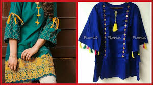 Latest Stylish <b>Summer</b> Kurta kurti Frocks Stylish <b>Shorts</b> Designs For ...