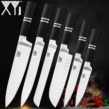 <b>XYj</b> Germany <b>Stainless</b> Steel Knife Set <b>3Cr13</b> High Hardness Sharp ...