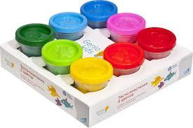 <b>Genio</b> Kids Набор для <b>лепки Тесто</b>-пластилин 8 цветов — купить ...