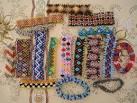 Плетение украшений из бисера начинающих схемы