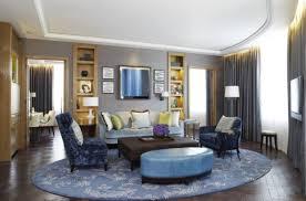 blue sofas living room: microfiber arm sofa round ottoman fabric