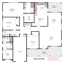 Ghana  Dypsis House Floor Plans
