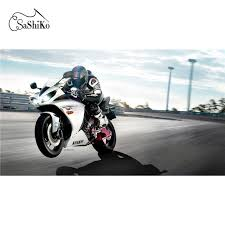 5D <b>Diamond embroidery painting</b> Motorcycle racing – Inlovearts