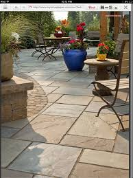 patio block design ideas product designed backyard ideas stamped concrete contrast of smaller pavers on border a