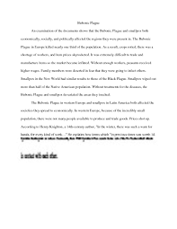 bubonic plague essay studypool