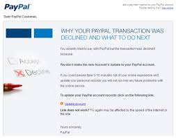 paypal transaction declined says phishing email mailshark mailshark paypal transaction declined says phishing email