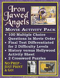 iron jawed angels worksheet and activity pack suffrage film iron jawed angels worksheets pack includes viewing worksheets tests puzzles and analysis of