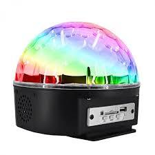 Диско-<b>шар Led</b> Crystal Magic Ball <b>Light</b> с Bluetooth