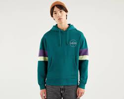 <b>Blocked Open Hem</b> Hoodie - <b>Levi's</b> Jeans, Jackets & Clothing