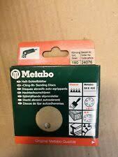 <b>Metabo</b> Sanding Sheets for sale   eBay