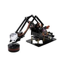 Docooler <b>Robotic Arm 4DOF</b> Mechanical Metal Clamp Claw Kit <b>DIY</b> ...