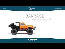 <b>Краулер ECX</b> 1:24 <b>Rock</b> Crawler Barrage 4WD, электро, RTR ...