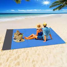 Mini <b>Portable Camping Beach</b> Picnic 140x200cm <b>Folding</b> 4 Nails ...