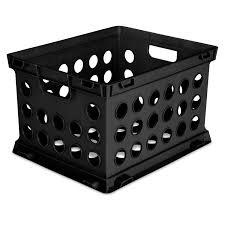 Sterilite File <b>Crate</b> Black - Walmart.com - Walmart.com