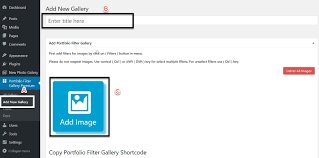 how to create filter portfolio in wordpress
