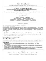 corporate finance professional resume why this is an excellent resume business insider homebrewandbeer com resumes great finance director resume example