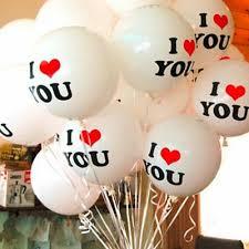 "<b>10Pcs</b>/<b>Lot</b> 12"" Durable I LOVE YOU Heart <b>Pearl</b> Latex Balloons ..."