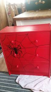 red spiderman ikea drawers painted beautiful ikea closets convention perth contemporary bedroom