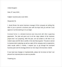 business plan cover letter cover business letter