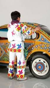 Image result for beaded mexican vw sedan