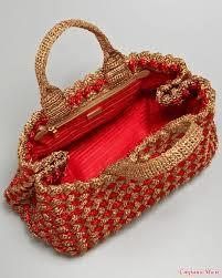 Vestido de Crochet Bege   Crochet/bags   Pinterest   Вязание ...