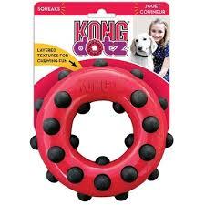 <b>Kong Dotz игрушка</b> для собак Кольцо