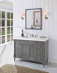 home bathroom vanities amazing homes remodeling inspiration this grey distressed basin cabinet looks great in this sim